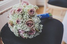 Gypsophila and pale pink roses. Photography by www.amylewinphotography.com