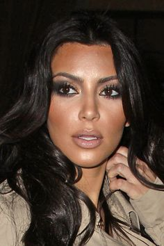 Kim Kardashian always have the perfect makeup!
