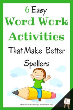 These six easy and effective word work activities will transform your upper elementary students into better spellers. These activities pair especially well with content word walls plus I've got a couple of FREEBIES to get you started! Spelling Word Activities, Word Study Activities, Spelling Words, Spelling Help, Grade Spelling, Spelling Ideas, Listening Activities, Phonics Activities, Language Activities
