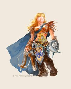 Female dwarf by ~GuzBoroda on deviantART
