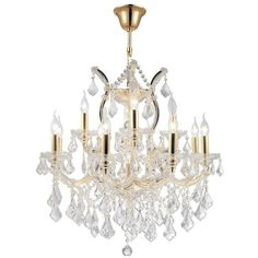 Brilliance Lighting and Chandeliers Maria Theresa Grand 13-light Gold... ($729) ❤ liked on Polyvore featuring home, lighting, ceiling lights, clear, victorian lamps, light bulb lights, victorian chandelier, incandescent lamp and light bulb lamp