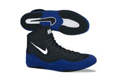 my senior year wrestling shoes