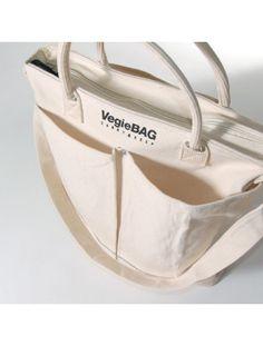 Vegie BAG(ベジバッグ)/2WAYバッグ(MET) Natural[3323]