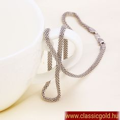 Nyakláncok : Solvo nyaklánc Pearl Necklace, Pearls, Chain, Jewelry, Fashion, String Of Pearls, Moda, Jewlery, Beaded Necklace