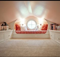 6 Simple and Stylish Tips Can Change Your Life: Finished Attic Loft victorian attic conversion. Attic Playroom, Attic Loft, Playroom Design, Attic Office, Attic House, Attic Library, Attic Ladder, Playroom Ideas, Garage Attic