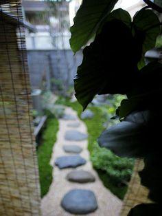 樹々丸:坪庭(トップ)