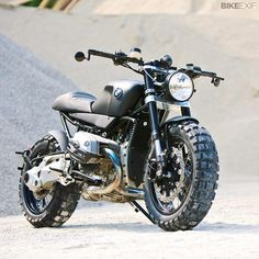 Bike EXIF  The BMW R1200R gets the scrambler treatment from Lazareth.