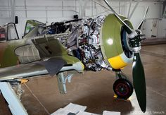 BMW 801 radial engine of Focke-Wulf Fw-190A-5 #flickr #plane #WW2