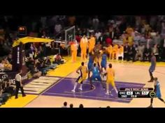 Thunder Dunks Lakers in Game 4, 103-100 - May 19, 2012 – Los Angeles, CA  The Los Angeles Lakers now have their backs against the wall as the Oklahoma City Thunder rallied past the Lakers 103-100 with 13.7 seconds left in the game.