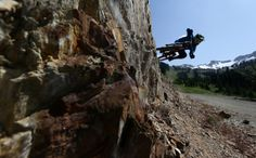 Mountain bike rider Paul Stevens is seen riding on Whistler mountain in Whistler, B.C. Saturday, August 11, 2012. THE CANADIAN PRESS/Jonatha...