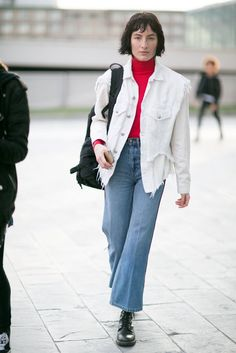 Milan Fashion Week | Model Street Style at Fashion Week Fall 2016 | POPSUGAR Fashion Photo 53
