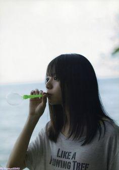 loveaya930401: 齋藤飛鳥ファースト写真集 潮騒 part 2 Scan and... | 日々是遊楽也