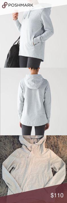 Lululemon Split Pullover Worn once. I do not trade. No lowball offers lululemon athletica Tops Sweatshirts & Hoodies