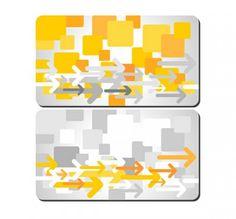 Modern Geometric Gift Card Templates Set - http://www.dawnbrushes.com/modern-geometric-gift-card-templates-set/