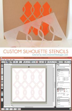 Only $2.33 for an awesome Silhouette stencil? Yes, please!