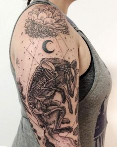 Tatuagens inspiradas na natureza combinam gravuras de estilo vintage de fauna e flora 20