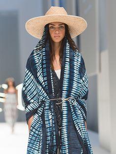 dyed indigo cotton linen shawl @discovercotton #sponsored #shopcotton