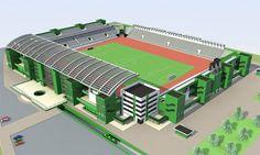 Club Athletic de Kénitra. 141 MDH pour l'extension et la rénovation du stade municipal