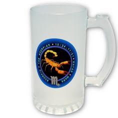 Valxart Scorpio zodiac logo Mug   by Valxart.com for $24.85