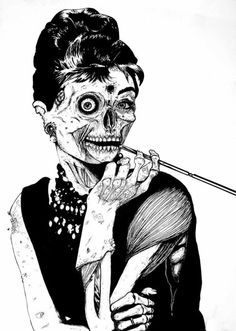 Zombie Holly Golightly