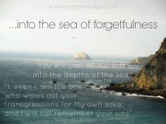 Heartprints of God: The Sea of Forgetfulness~