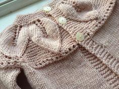 Handknit Toddler Sweater in 100% Superfine Italian Merino Wool.