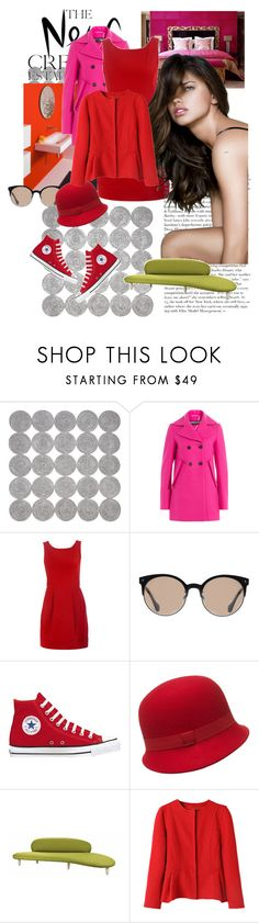 """The New Creatives"" by agathap ❤ liked on Polyvore featuring Daisy Hill, Industrie, Rochas, Diane Von Furstenberg, Balenciaga, Converse, Hobbs and Vitra"