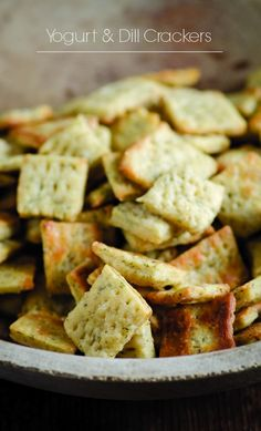 Yogurt & Dill Crackers - Weed'em & Reap