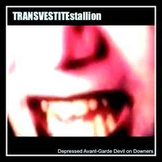 Depressed Avant-Garde Devil on Downers (experimental outsider Art Music), by TRANSVESTITEstallion - the experimental dada Electro ART Noise Glitch Band Fluxus Art, Outsider Art, Glitch, Art Music, Devil, Depression, Mixed Media, The Outsiders, Band