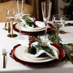 christmas table setting ZARA 2013