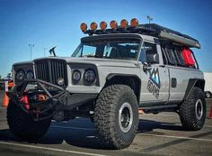 Jeep Cherokee Chief from the 2010 SEMA show in Las Vegas. | Jeep ...