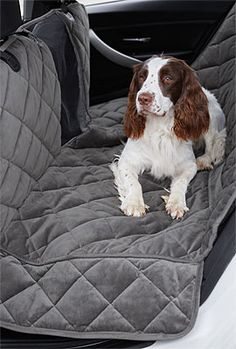 Just found this Dog+Hammock+Car+Seat+Cover+-+Windowed+Hammock+Seat+Protector+--+Orvis on Orvis.com!