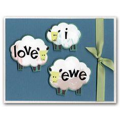 Sheep Love Card