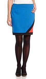 Yessica Rok blauw Dames-zomerrok in lagenlook met bovenstof van kant- In blauw ombre-effect, sterk kleurverloop- Roklengte: ca. 44 cm in maat 38 - 100% Polyester- 100% Katoen  #zomercollectie #zomerkledingdames #zomerkleding