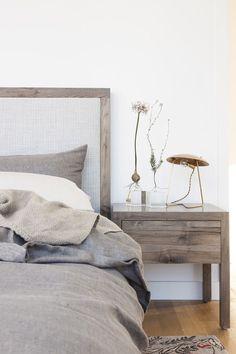 Simple elegant bedroom