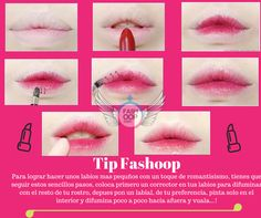 Este tip hará lucir tus labios irresistibles...! #OopYourself #Maquillaje #Kawaii