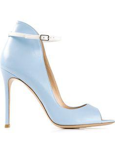 GIANVITO ROSSI - high ankle stiletto pumps | SS 2014 | cynthia reccord