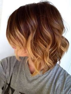 Image result for ombre blonde bob