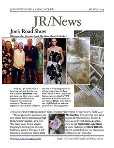 March News from Joe Ruggiero