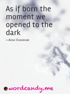 DAY 17 As if born the moment we opened to the dark. Photo by @Sarah Elwell