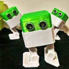 """interactive robot that anyone can make! #OttoDIY """"build your own opensource robot"""" #3Dprintable and powered by #Arduino."""