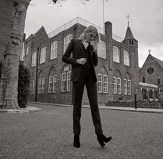 Lily Donaldson for Elle UK August 2015 by Kai Z Feng - Ralph Lauren