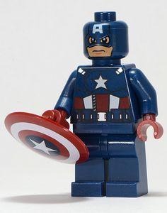 Captain America LEGO Superheroes Minifigure