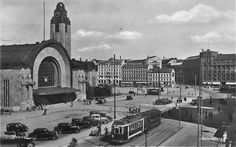 Eliel Saarinen, Herman Gesellius, Armas Lindgren, Helsinki Central Railway Station, 1914.
