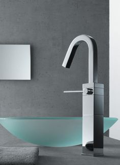 Contemporary Faucets from Teknobili - Cube faucets