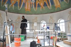 Update on the Dome Frescoes at Santa Rosa, CA