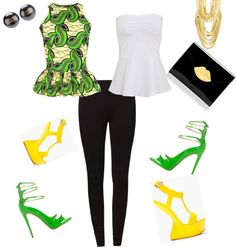 """""""Light Bright!"""" by fashionablylethal on Polyvore"""