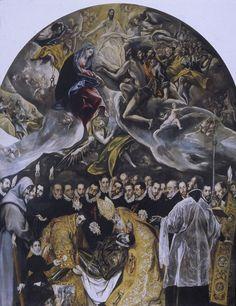 Enterro do Conde de Orgaz - El Greco, 1586