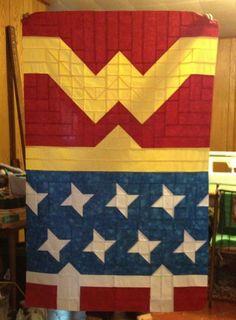 Wonder Woman quilt | wonder woman quilt - Google Search