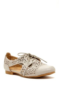Carrini Laser Cut Oxford on HauteLook